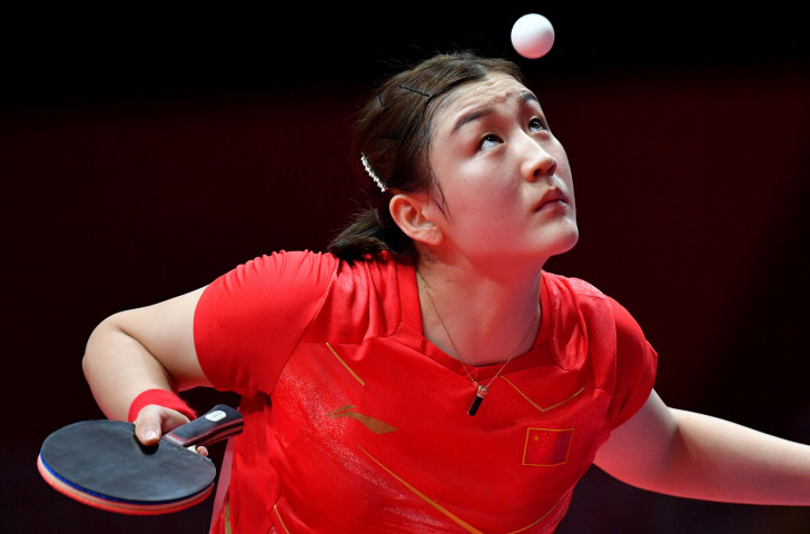 China's Chen Meng made a winning start to her women's singles title defence at the ITTF World Tour Grand Finals at Incheon in South Korea ©Getty Images