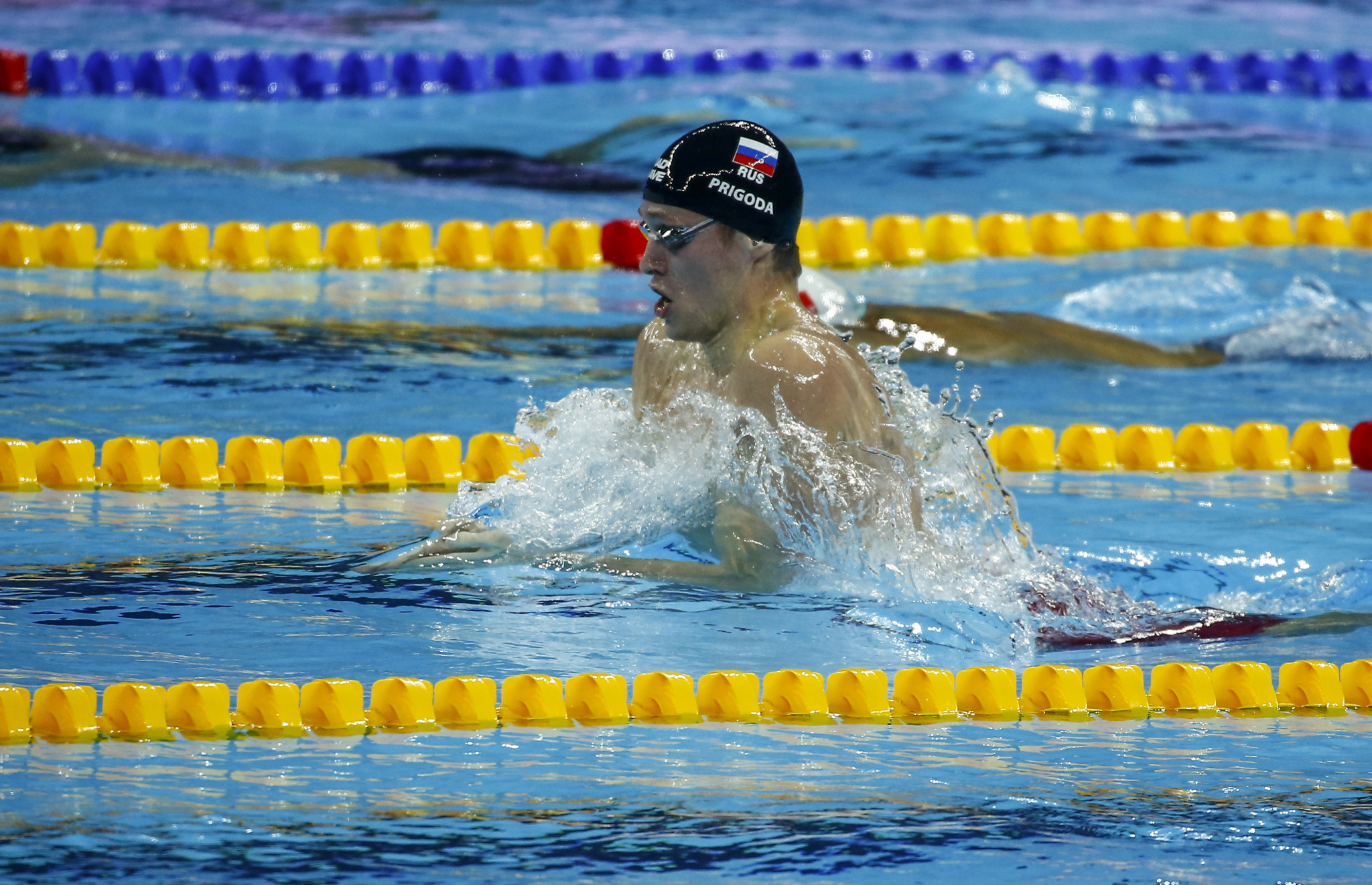 Prigoda stars with men's 200m breaststroke world record at FINA World Short Course Championships