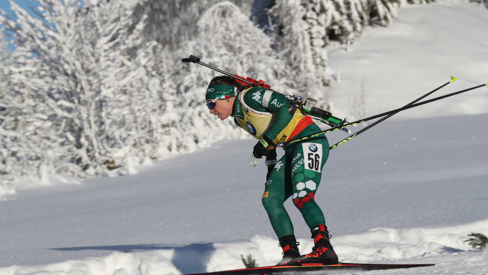 Wierer secures first sprint victory at IBU World Cup in Hochfilzen