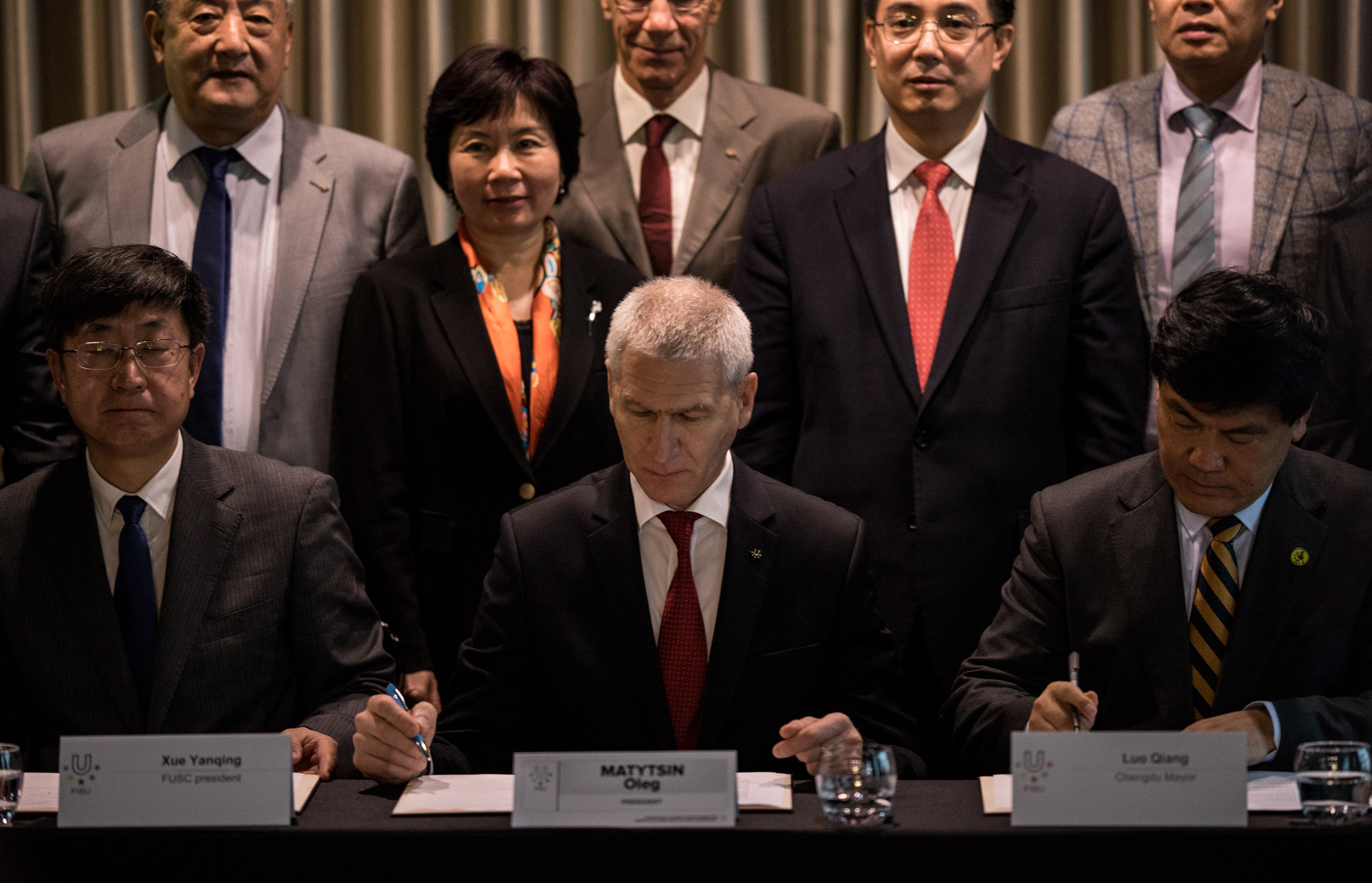 The parties signed a pre-attribution contract ©FISU