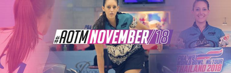 Bowler McEwan named as World Games athlete of the month for November