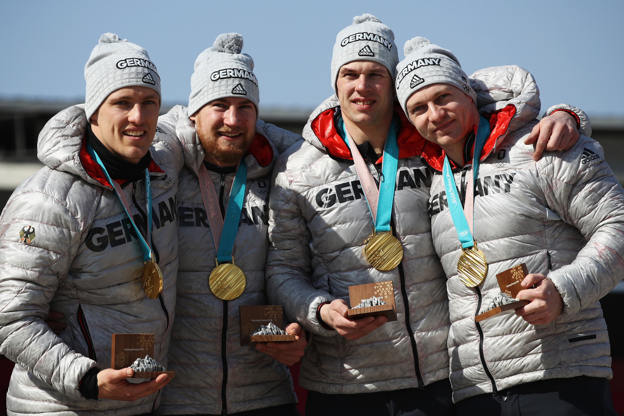 Pyeongchang medallists line-up for four-man opener at IBSF World Cup in Winterberg
