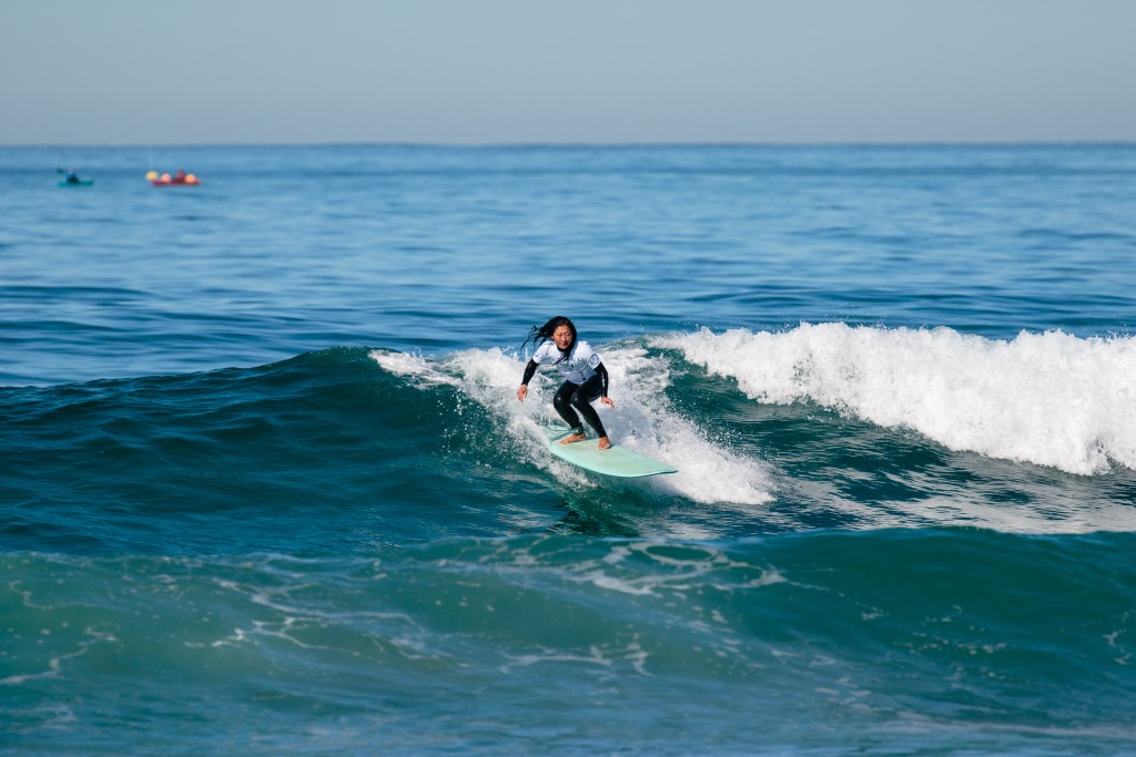 Women's visually impaired event debuts at World Adaptive Surfing Championships