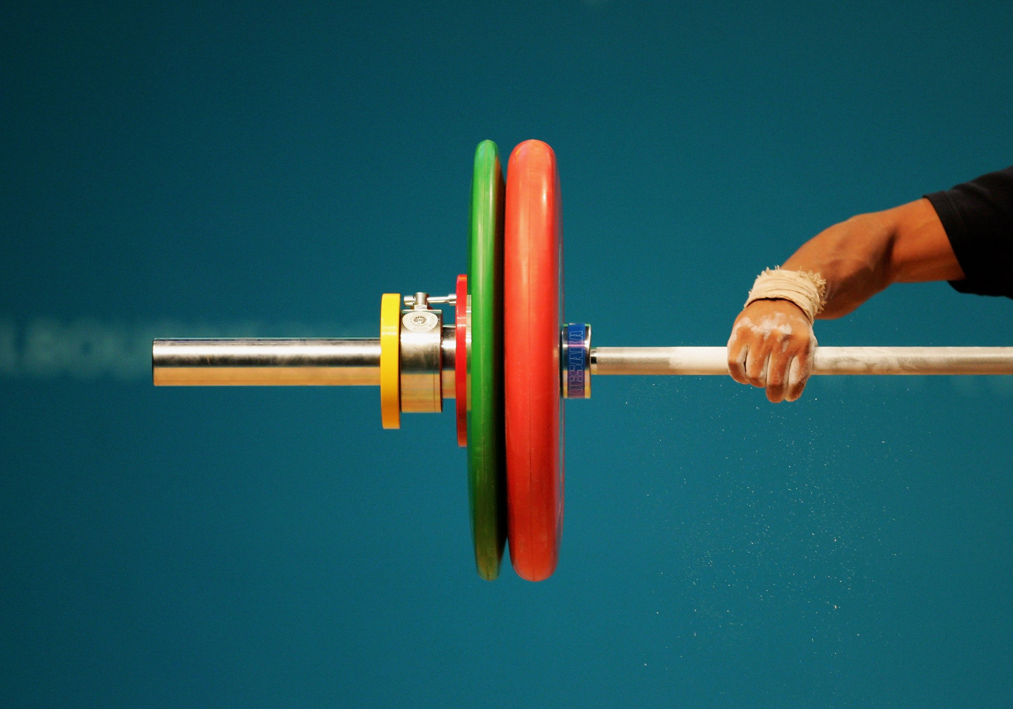 Belarus weightlifter provisionally suspended after positive doping test