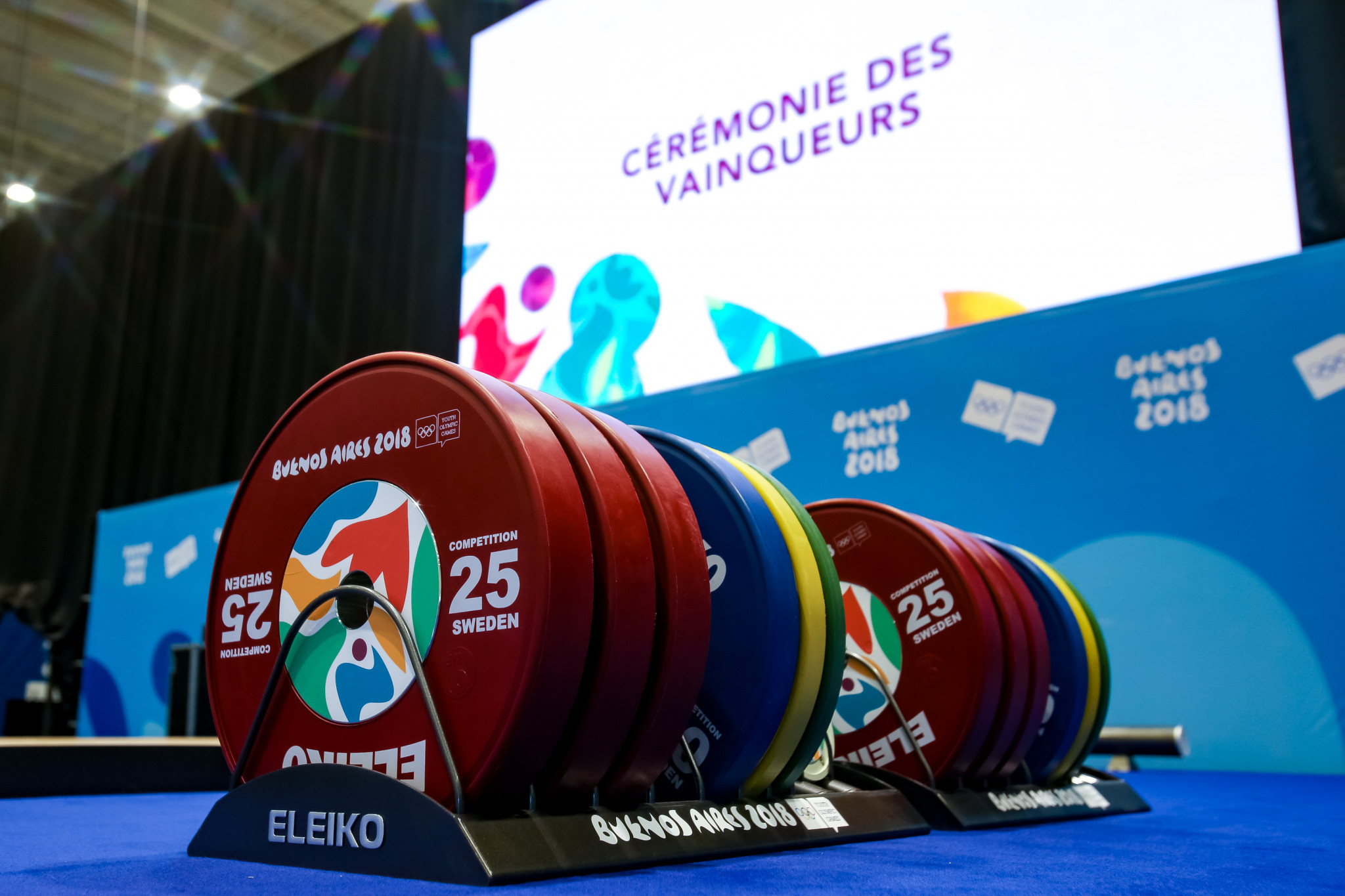 Weightlifting is a sport aiming to clean up its image ©Getty Images