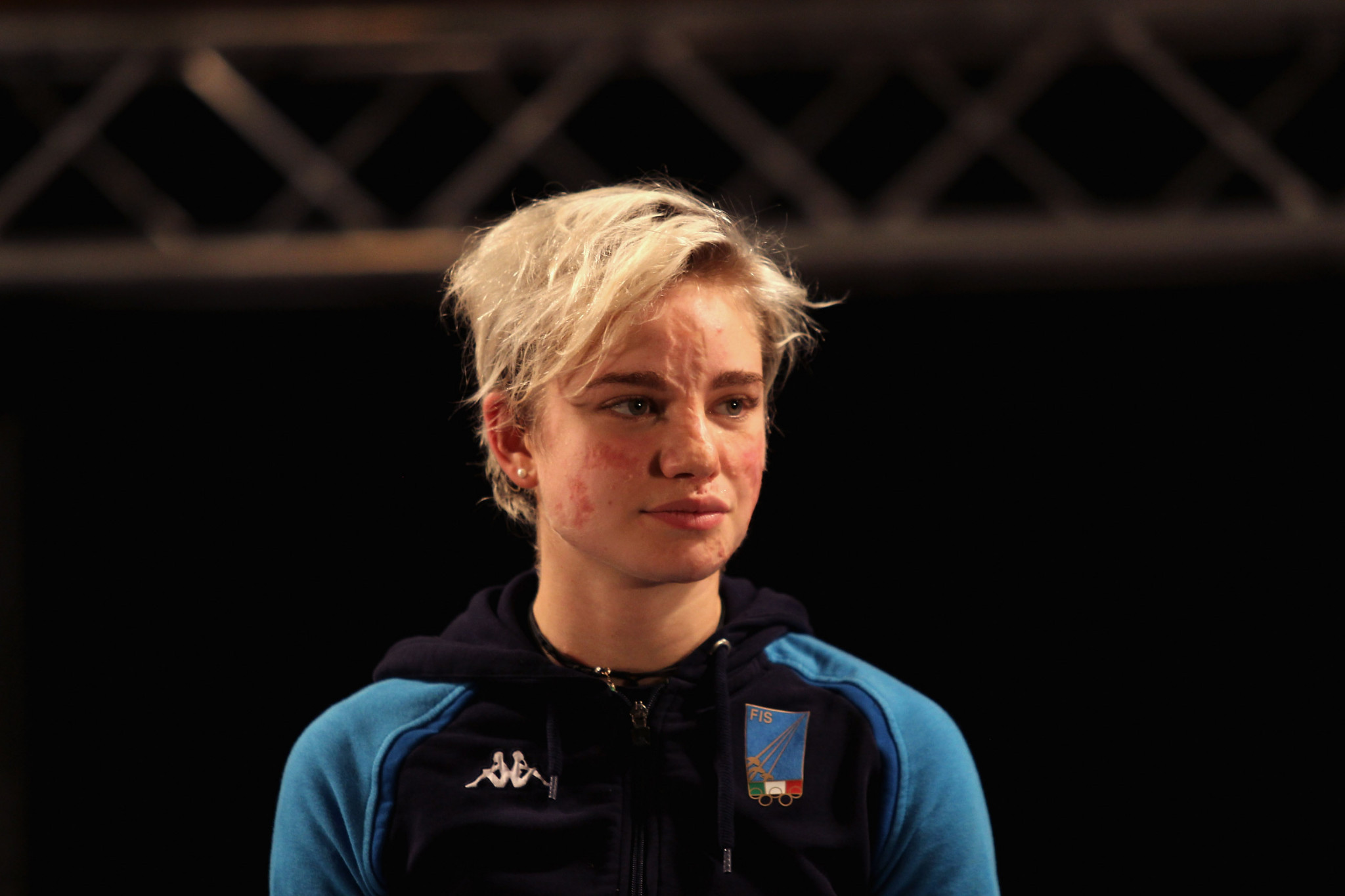Italy's Beatrice Vio was narrowly beaten to gold at the IWAS Wheelchair Fencing World Cup in Kyoto ©Getty Images