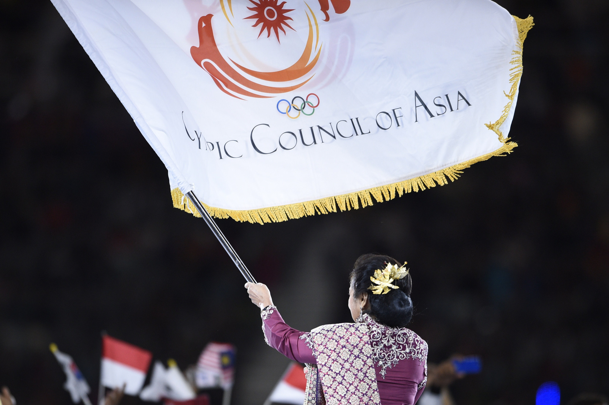 The OCA is one of the five continental associations recognised by the International Olympic Committee ©Getty Images