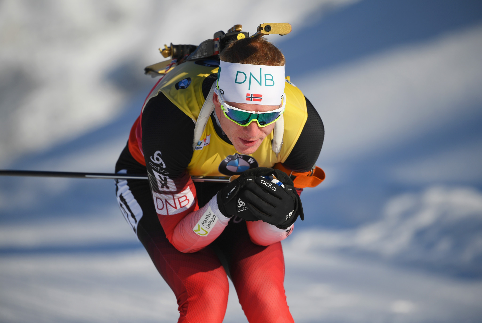 Johannes Thingnes Bø made it three wins from four during this World Cup season ©Getty Images