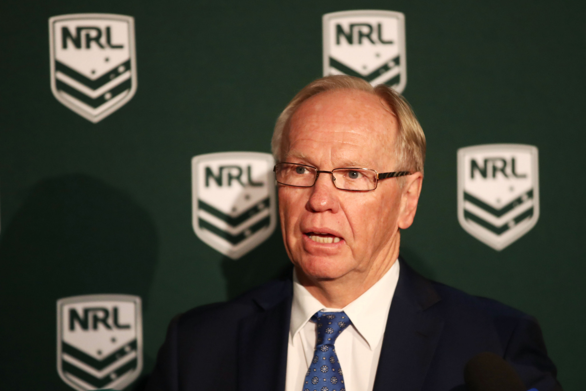 Former Gold Coast 2018 chairman Peter Beattie has been named a deputy chair of the RLIF ©Getty Images