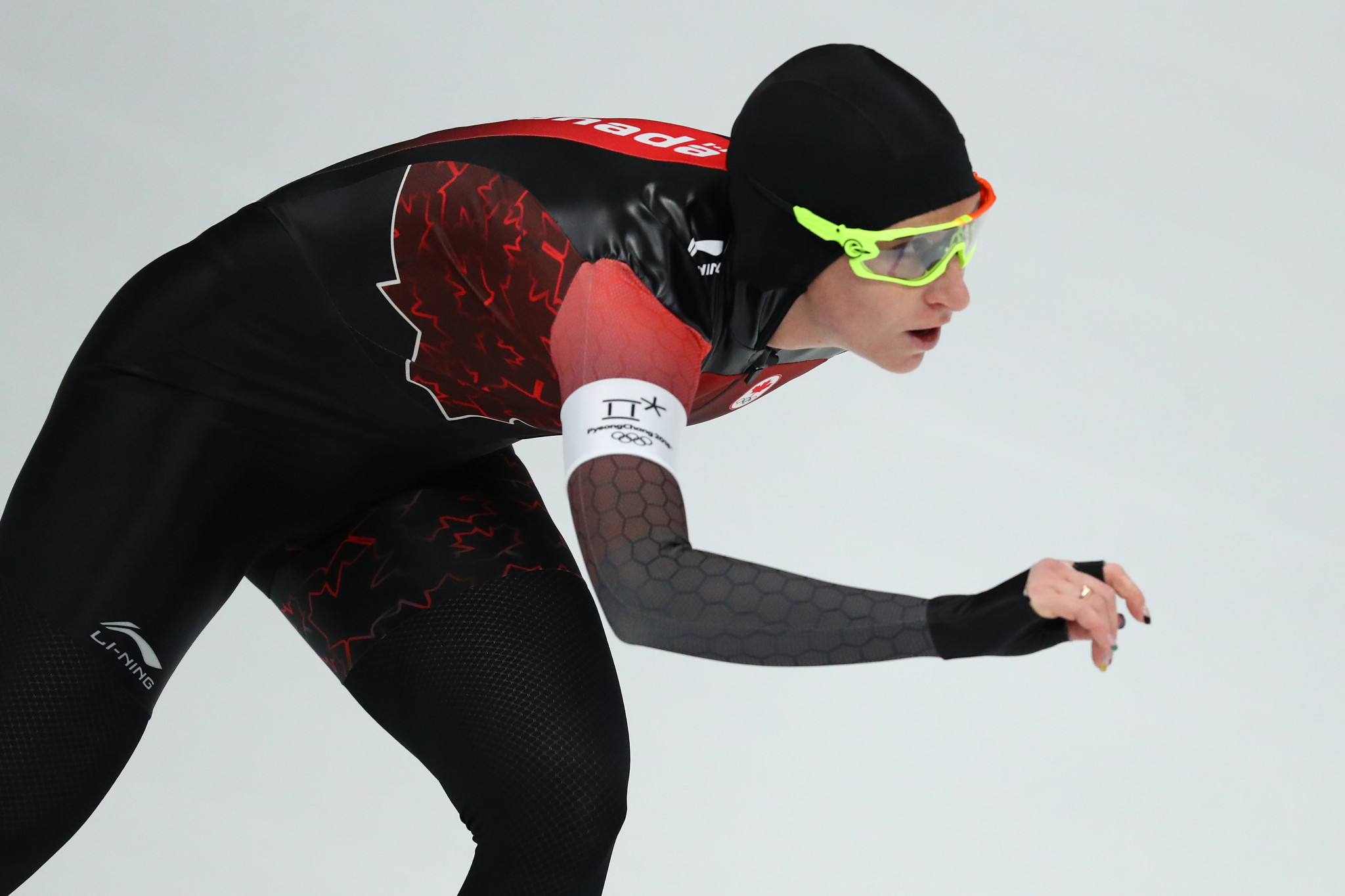 Blondin eases into mass start final at ISU Speed Skating World Cup in Heerenveen