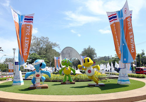 The fourth Asian Beach Games took place in Phuket in the south west of Thailand in 2014 ©OCA