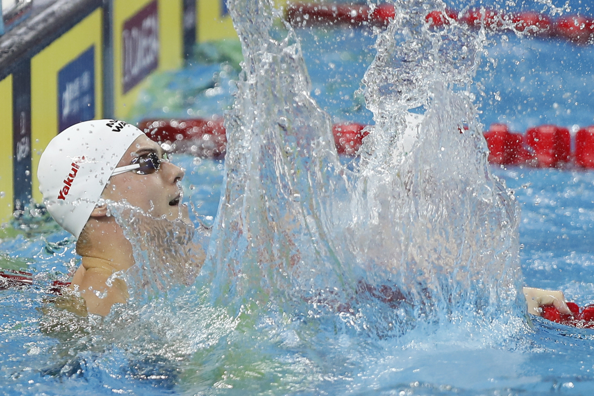 Vladimir Morozov powered to victory in the men's 50m freestyle event ©Getty Images