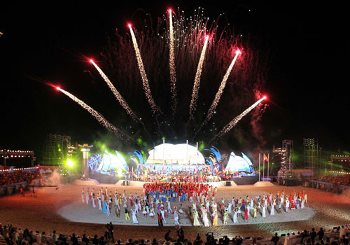 The Opening and Closing Ceremonies of the Games were held at the 28,000-capacity Chi Lăng Stadium ©OCA