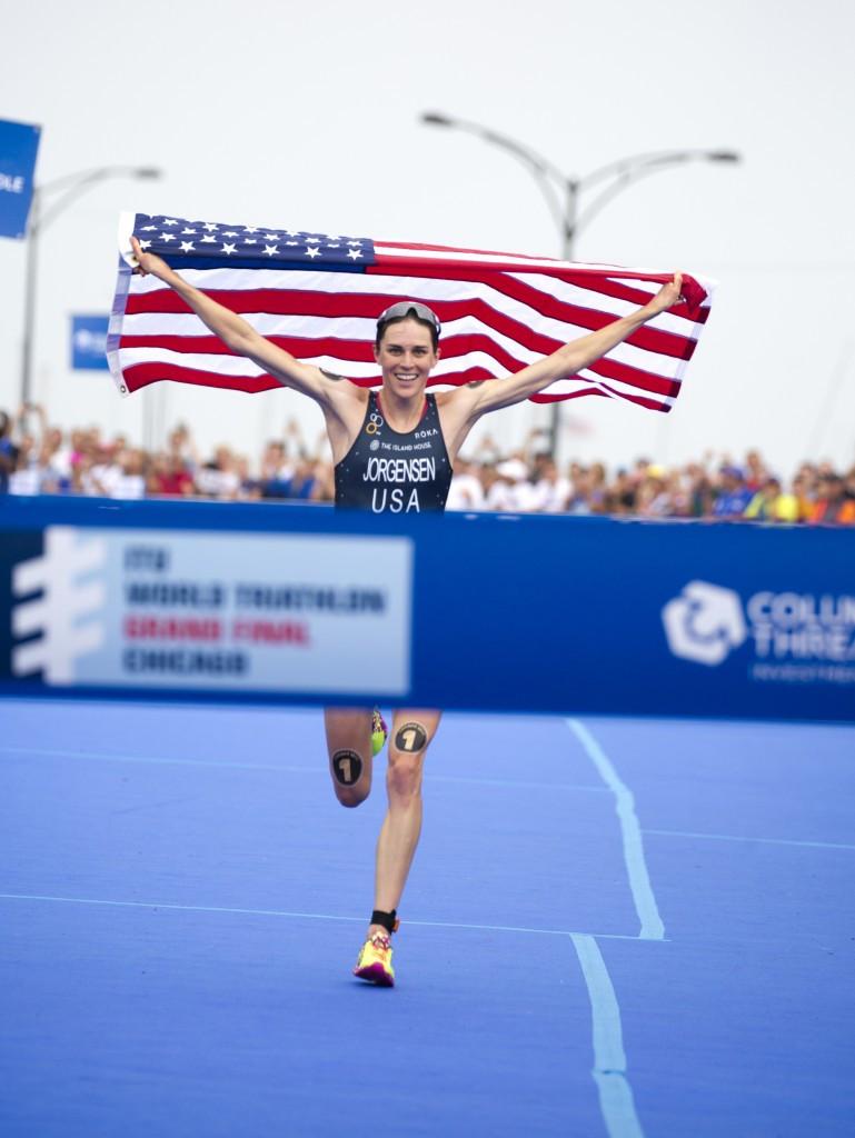 USOC names triathlete Jorgensen among Team USA Awards' winners for September after retaining world crown