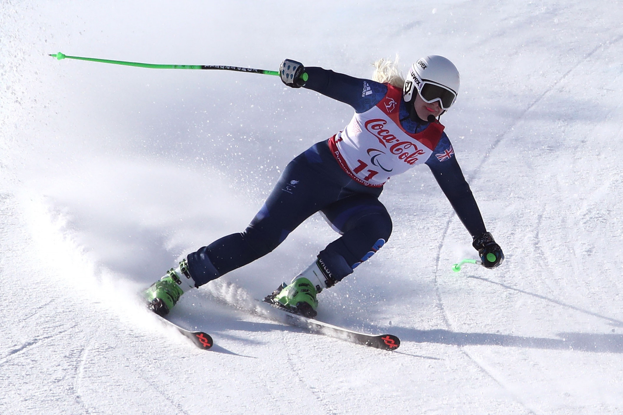 Gallagher and Bochet maintain winning form at World Para Alpine Skiing Europa Cup in St Moritz