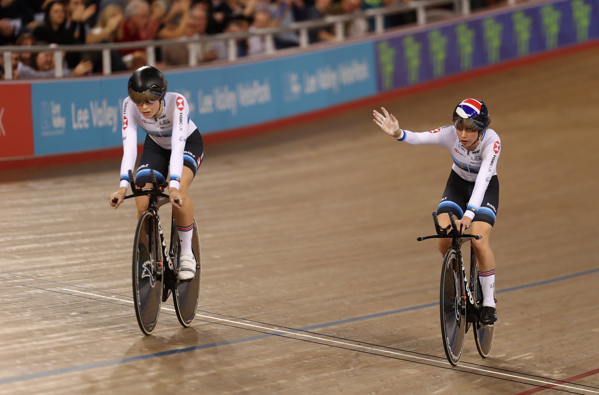 Britain enjoy team pursuit success as Para-cycling makes UCI Track Cycling World Cup debut