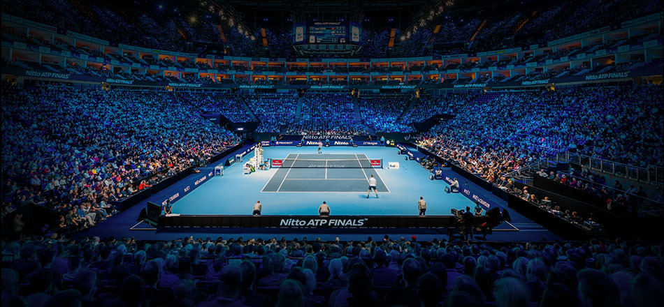 The ATP Finals at The O2 in London has been considered an outstanding success ©ATP