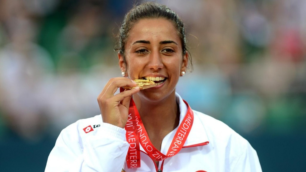 Tennis star Çağla Büyükakçay has been appointed President of the Turkish Olympic Committee's Athletes' Commission ©TOC