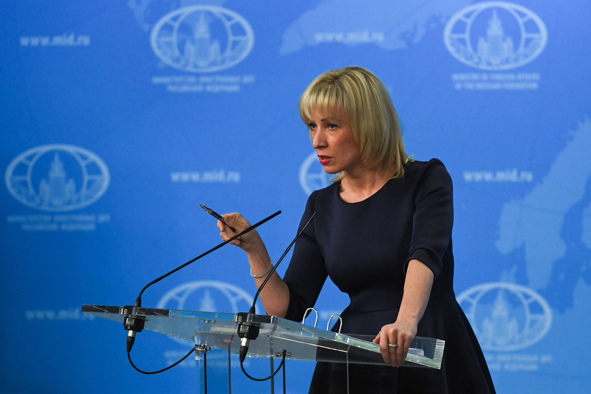 Russian Foreign Ministry spokeswoman Maria Zakharova has called the police's action