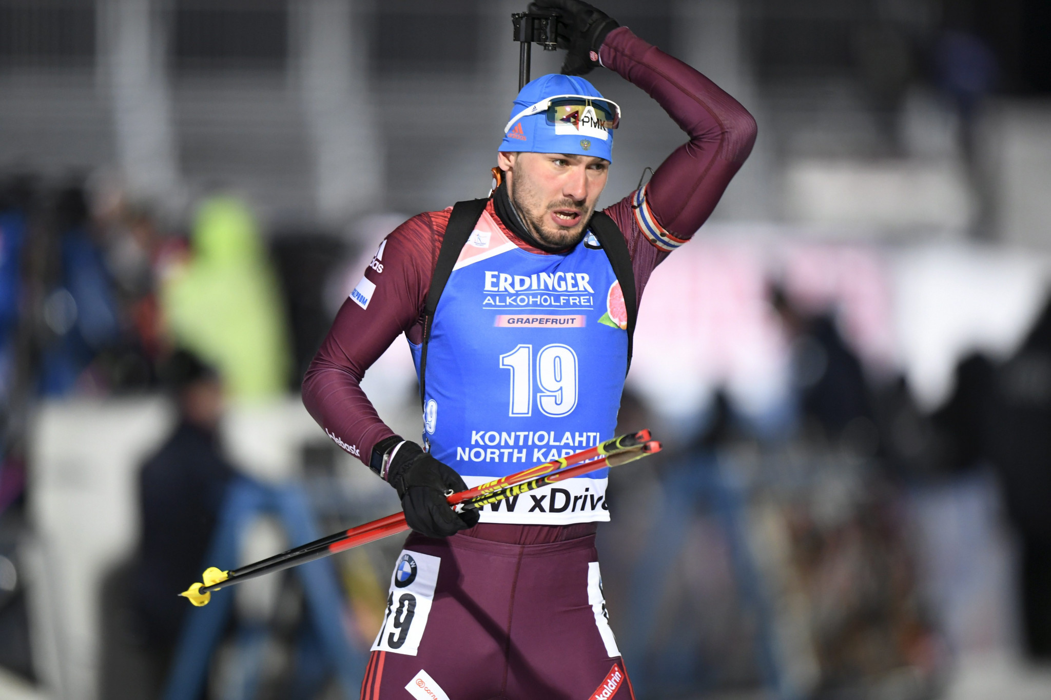 Five Russian biathletes including Anton Shipulin are under investigation for anti-doping violations at last year's World Championships ©Getty Images