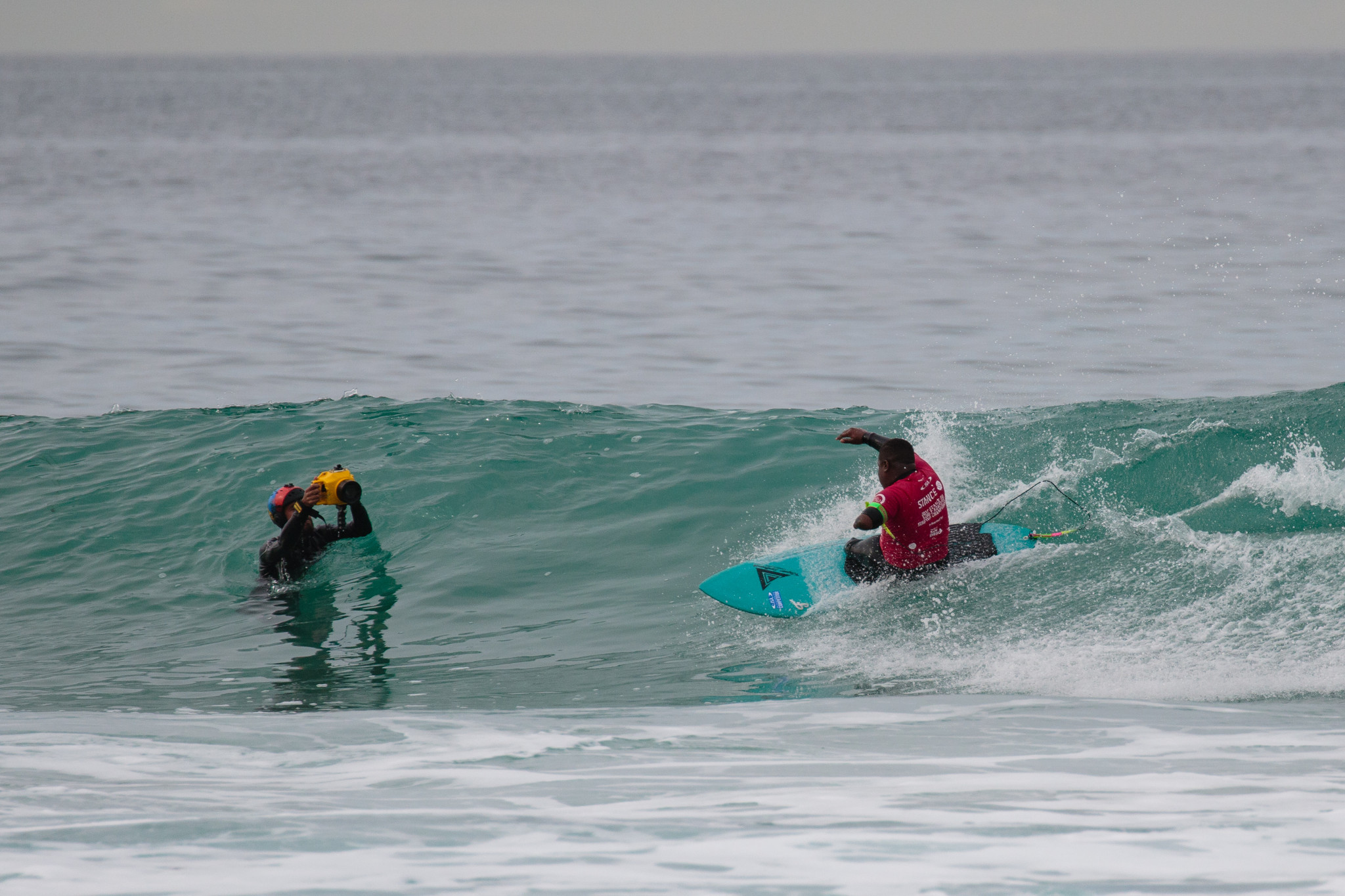 Teenage sensation shines on day three of ISA World Adaptive Surfing Championships