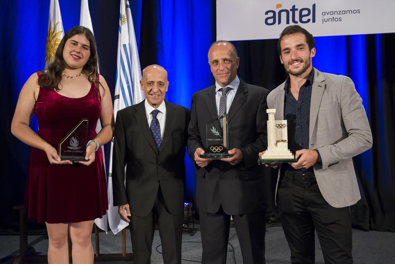 Uruguayan Olympic Committee honour best sporting performances of 2018