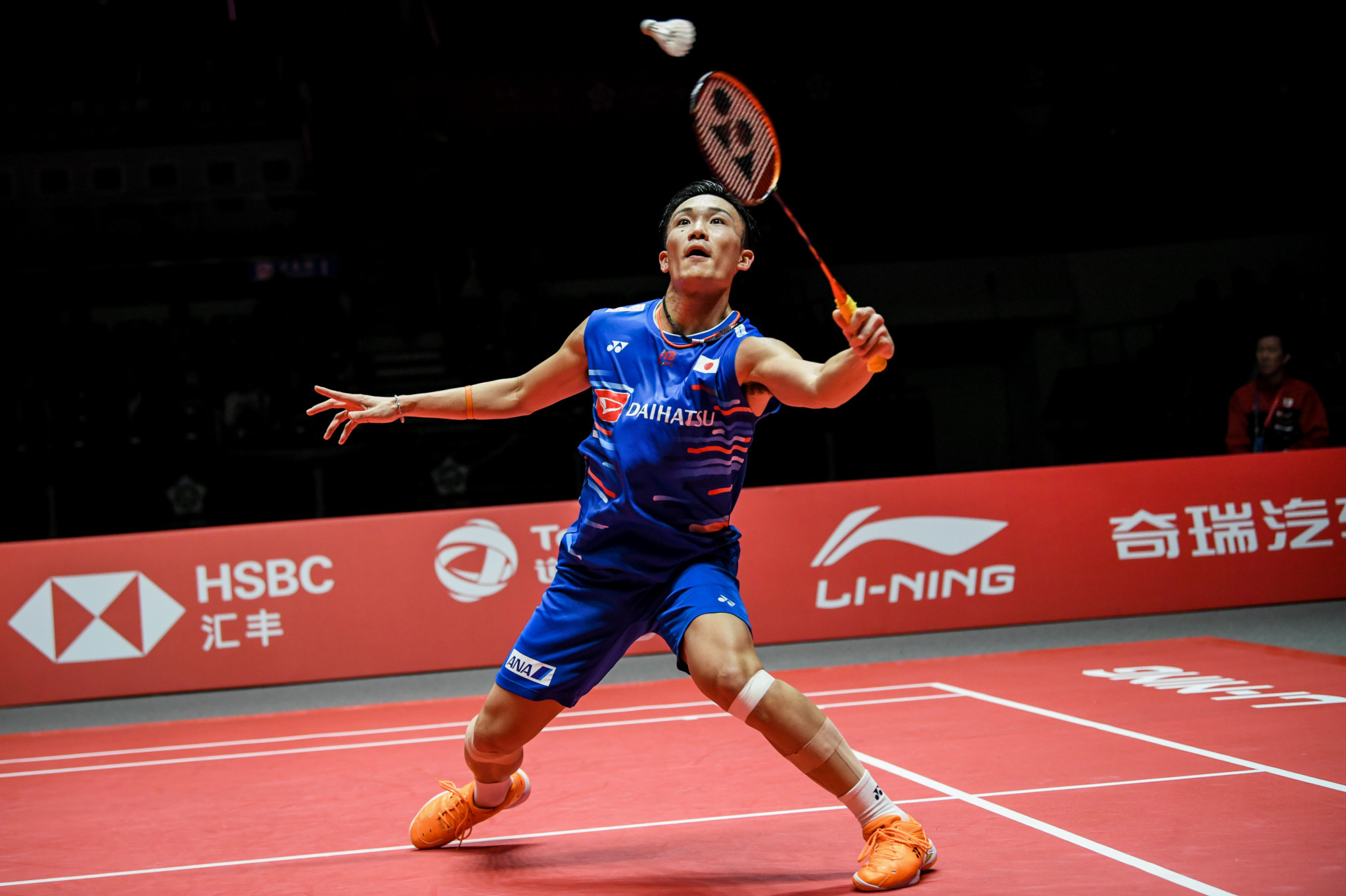 Momota marches into men's singles final at BWF World Tour Finals