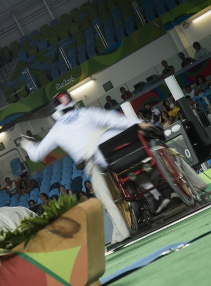 China take gold in both men's events on day three of IWAS Wheelchair Fencing World Cup in Kyoto