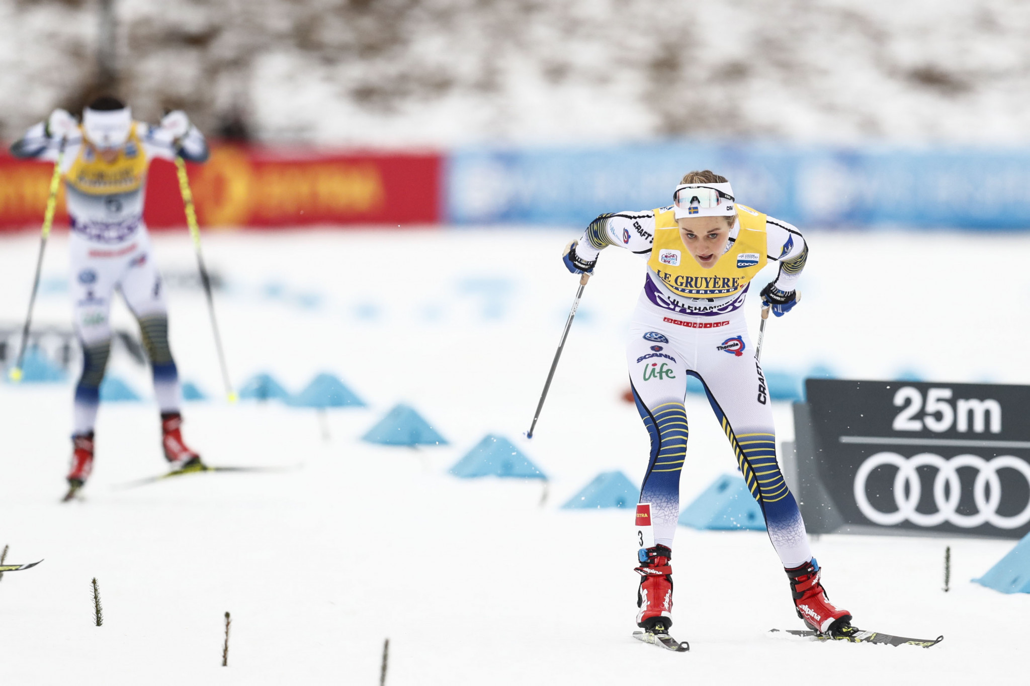 Nilsson sprints to FIS Cross-Country World Cup win in Davos