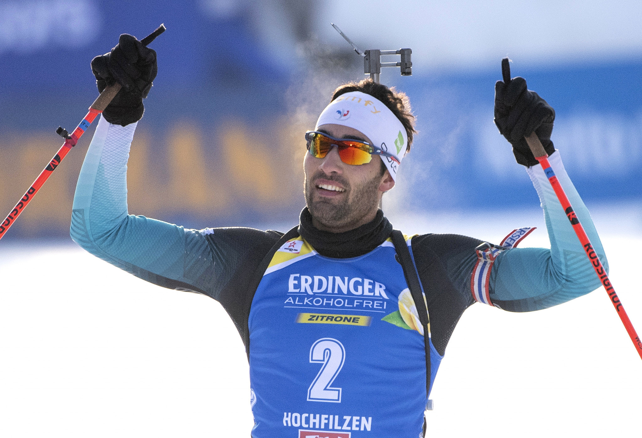Fourcade clinches dominant pursuit victory at IBU World Cup