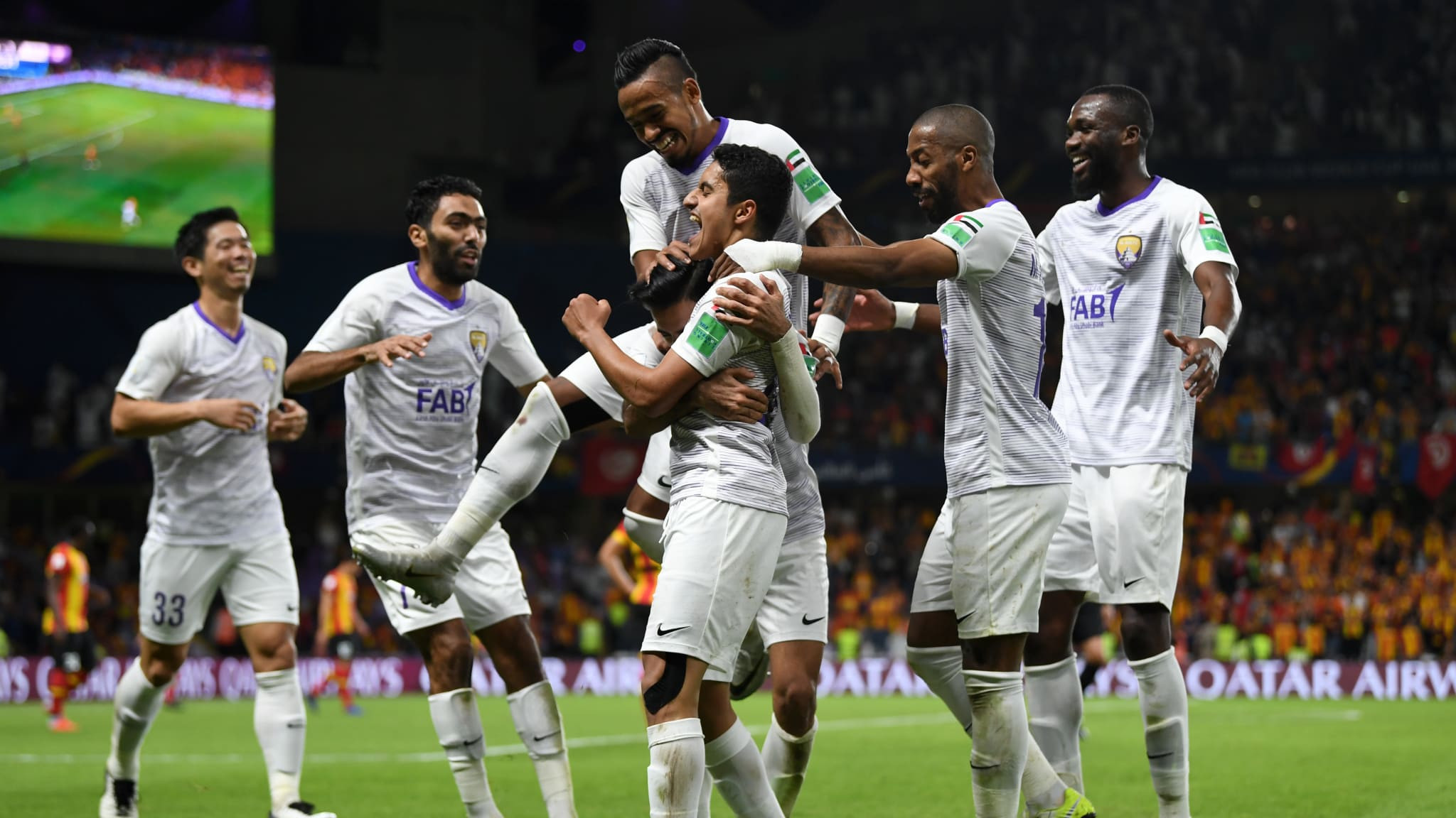 Local heroes Al Ain and Kashima Antlers earn FIFA Club World Cup semi-finals against River Plate and Real Madrid