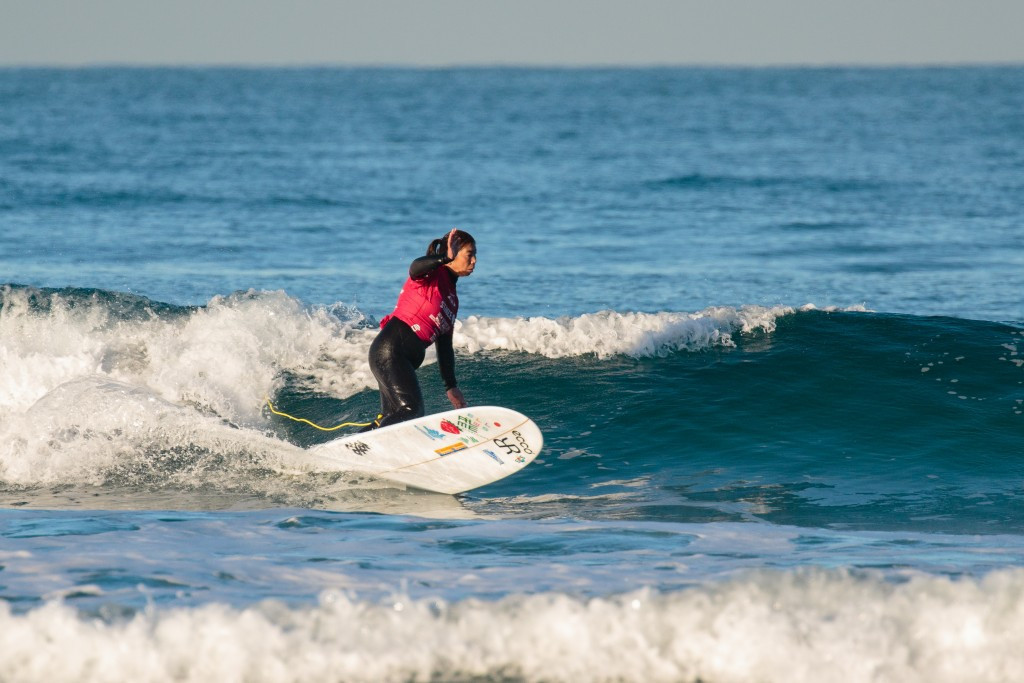 Japan's Kazune Uchida will have a chance to defend her AS-1 title tomorrow ©ISA