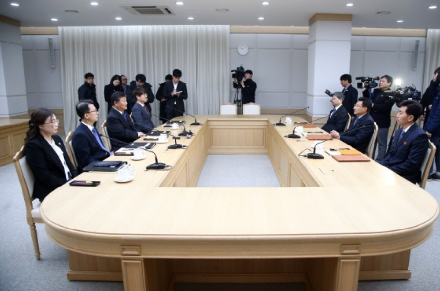 North and South Korean officials agreed to send joint teams in some sports at the 2020 Olympic Games in Tokyo ©South Korea Unification Ministry