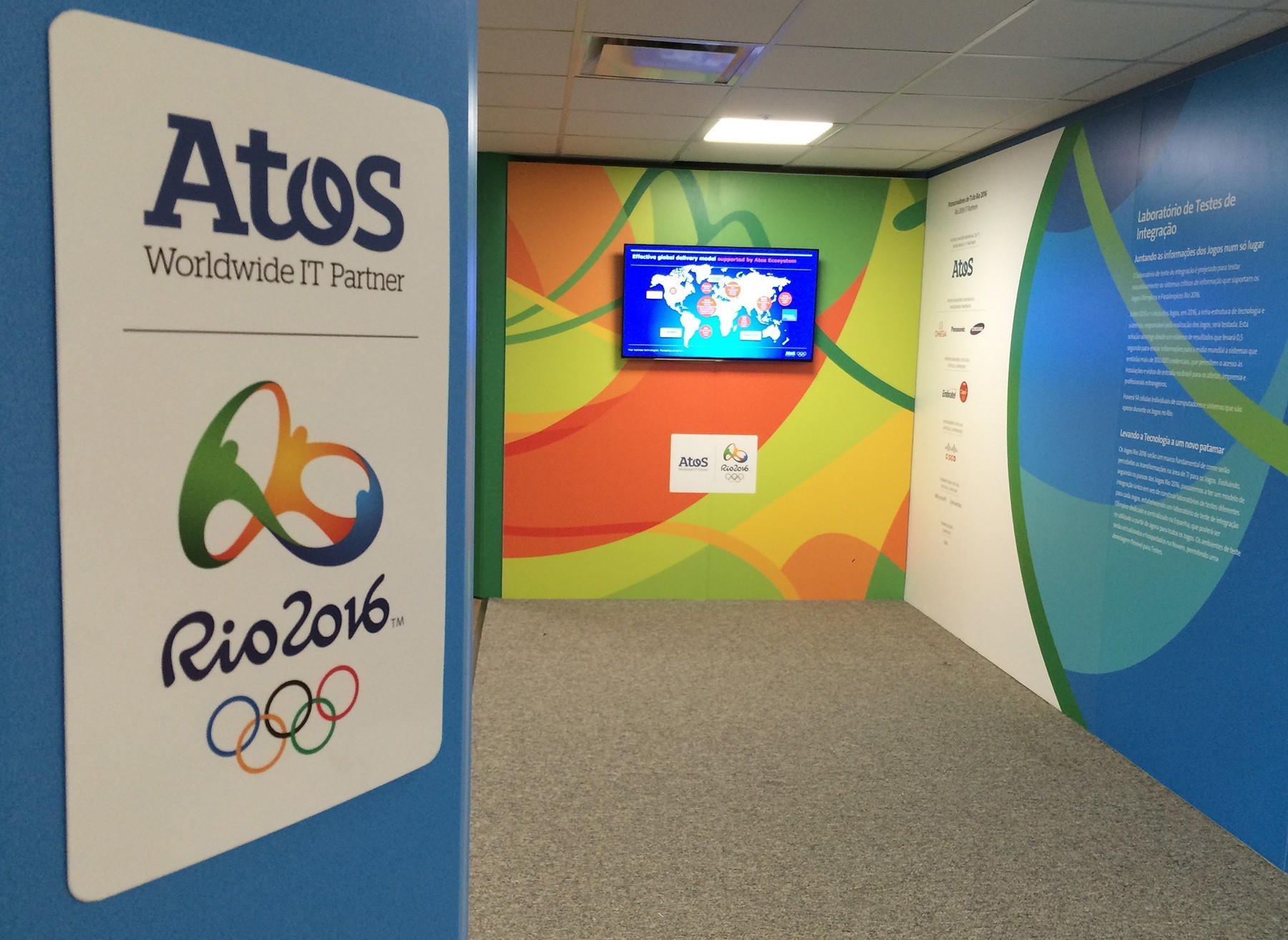 Atos opens Rio 2016 IT integration testing lab