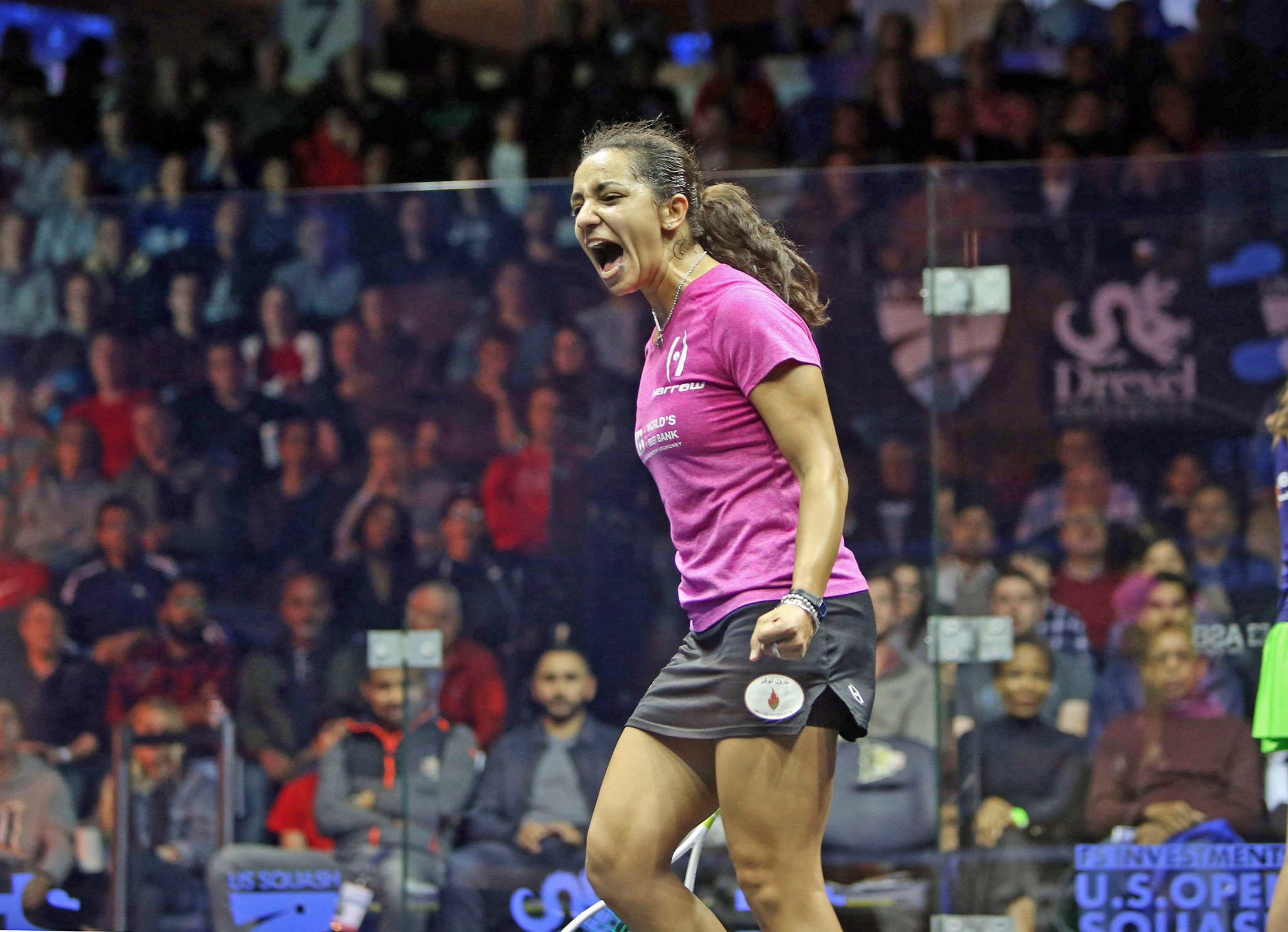 Egypt's Raneem El Welily will look to maintain her strong start to the season ©PSA