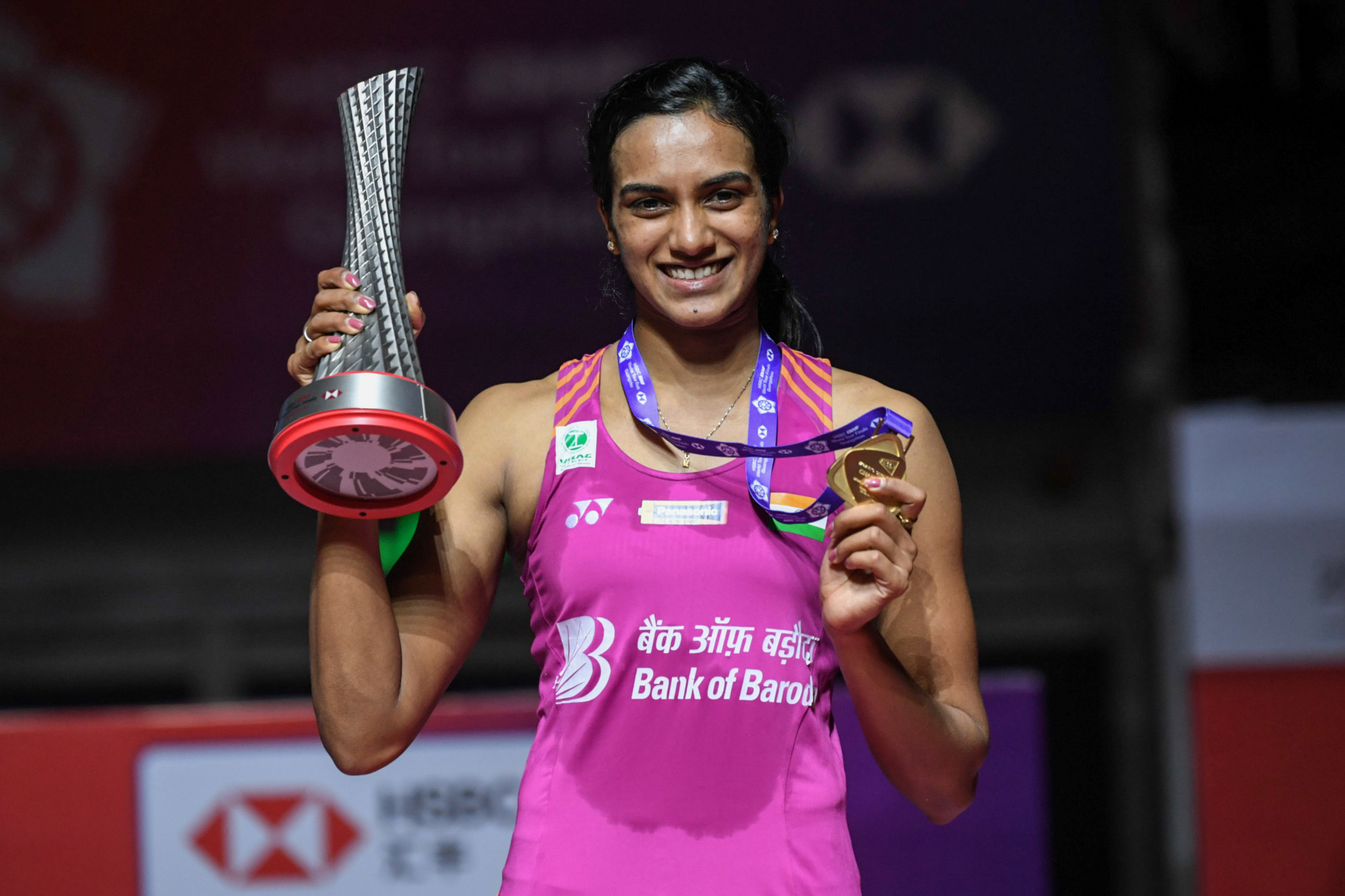 Sindhu ends final curse with victory at BWF World Tour Finals
