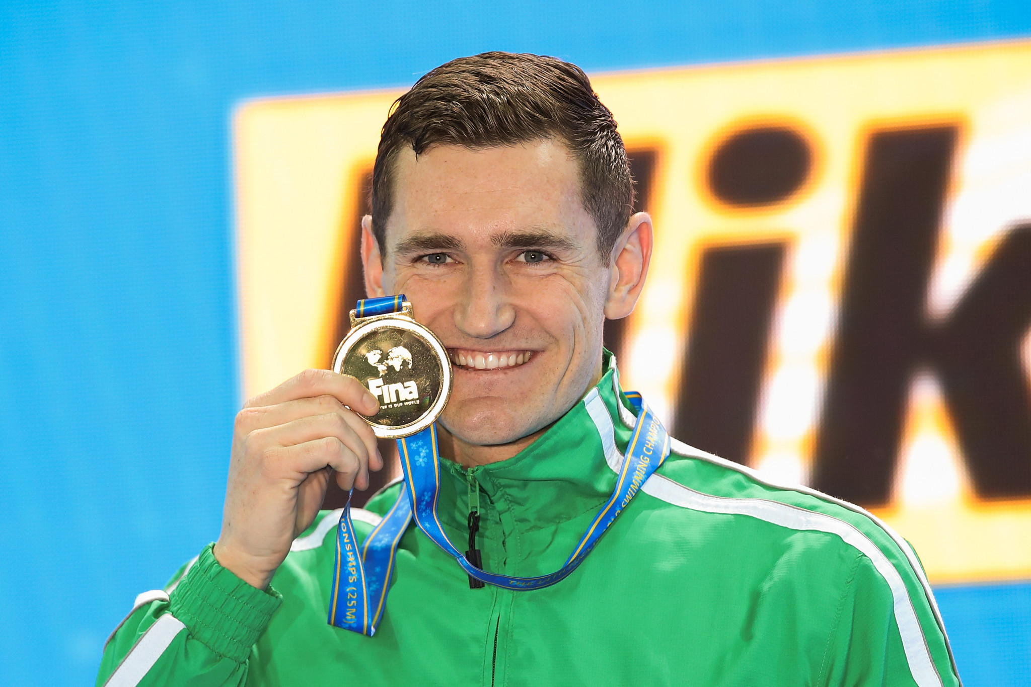 South Africa's Cameron van der Burgh ended his career with gold in the 50m breaststroke final ©Getty Images