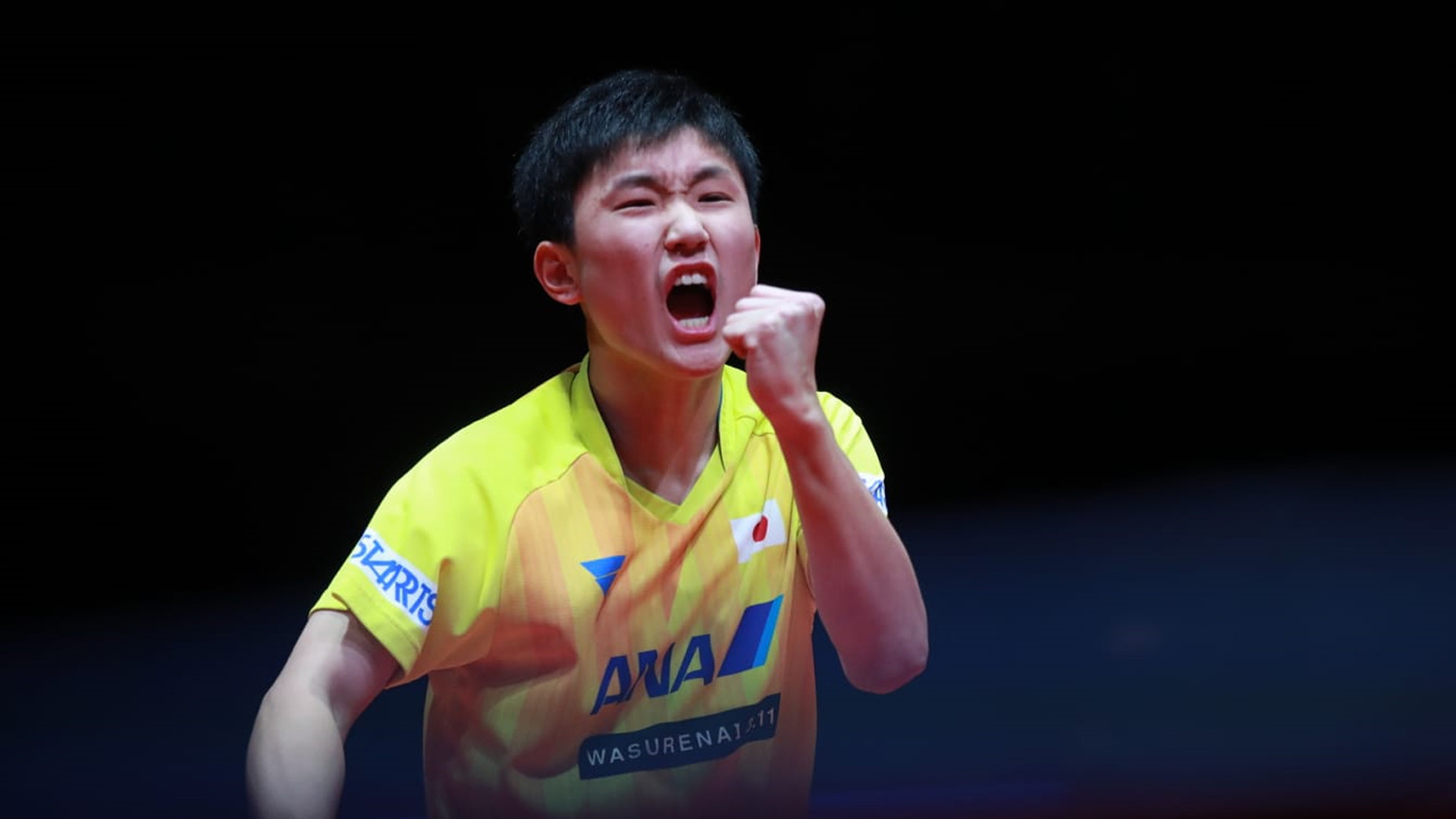 Historic Harimoto wins ITTF World Tour Grand Finals men's gold for Japan at age of 15