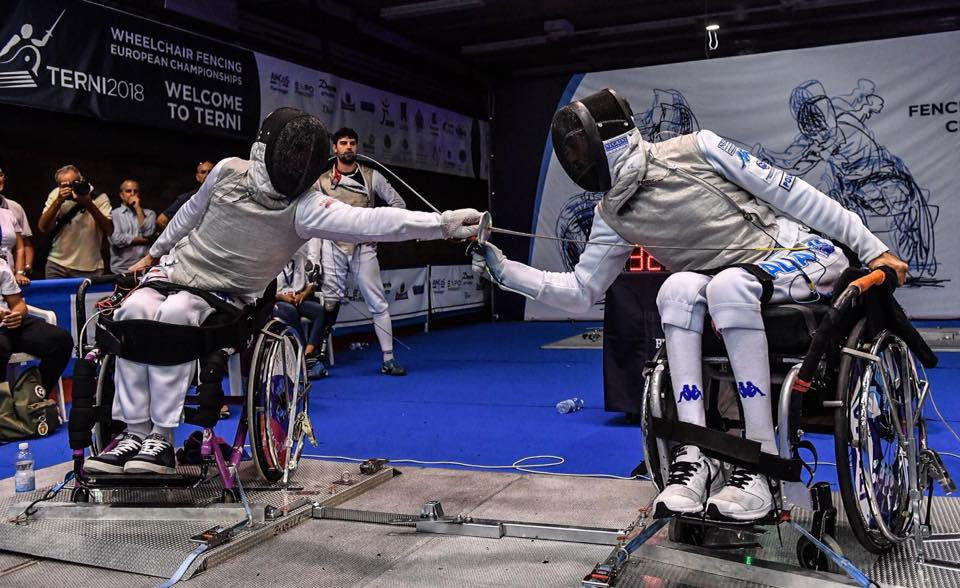 Russians take gold and silver in team events at IWAS Wheelchair Fencing World Cup in Kyoto