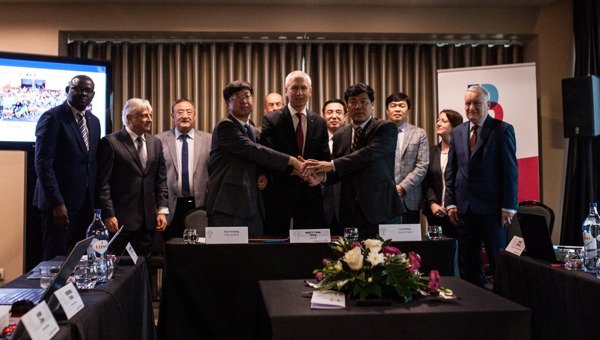 A deal has been agreed between FISU and Chengdu in China to host the 2021 Summer Universiade @FISU