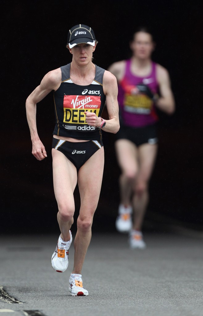 Although Samuelson was denied the chance to race in Chicago by illness, Deena Kastor is set to run