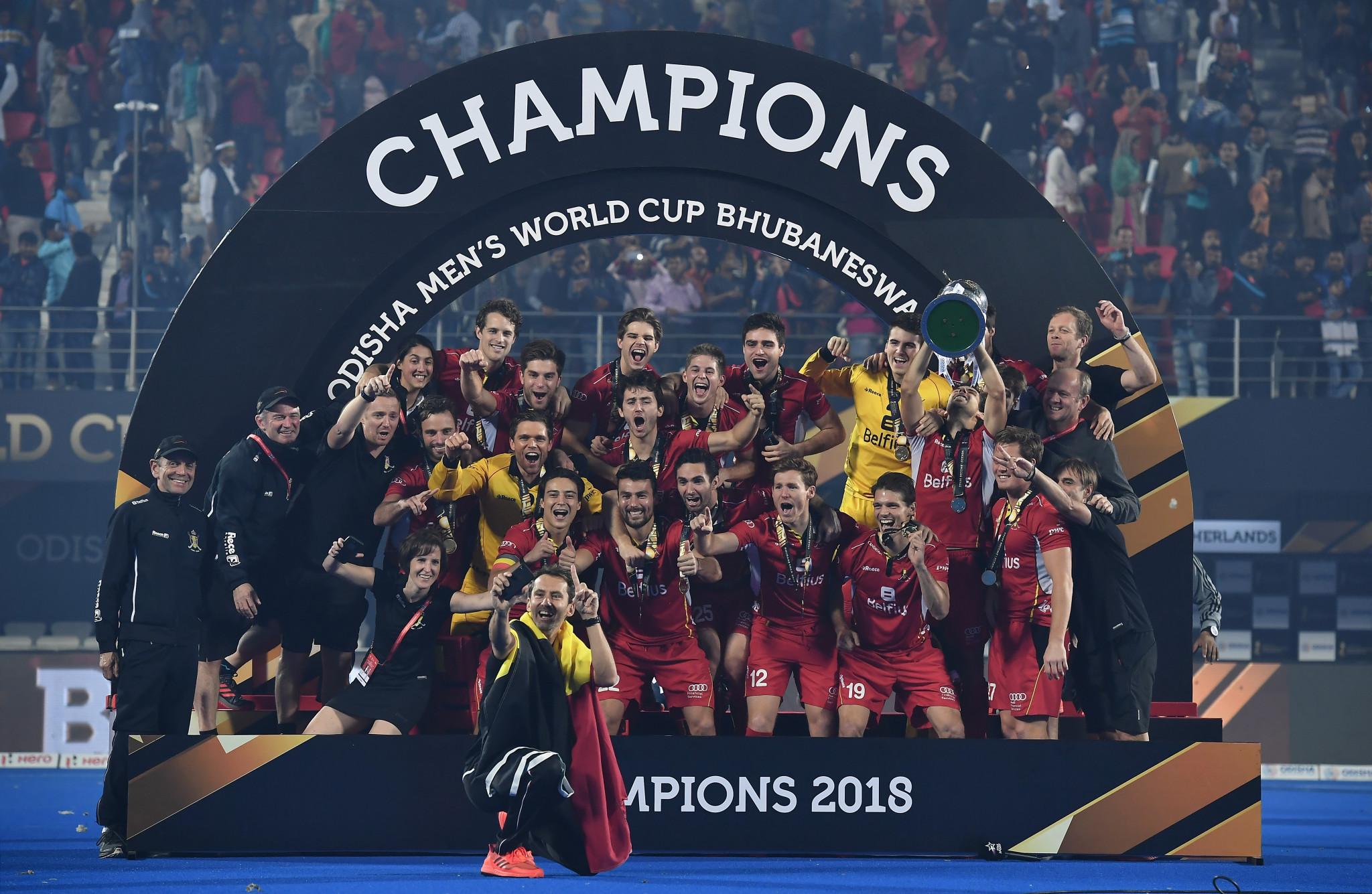 Shoot-out sees Belgium win historic title at FIH Men's Hockey World Cup
