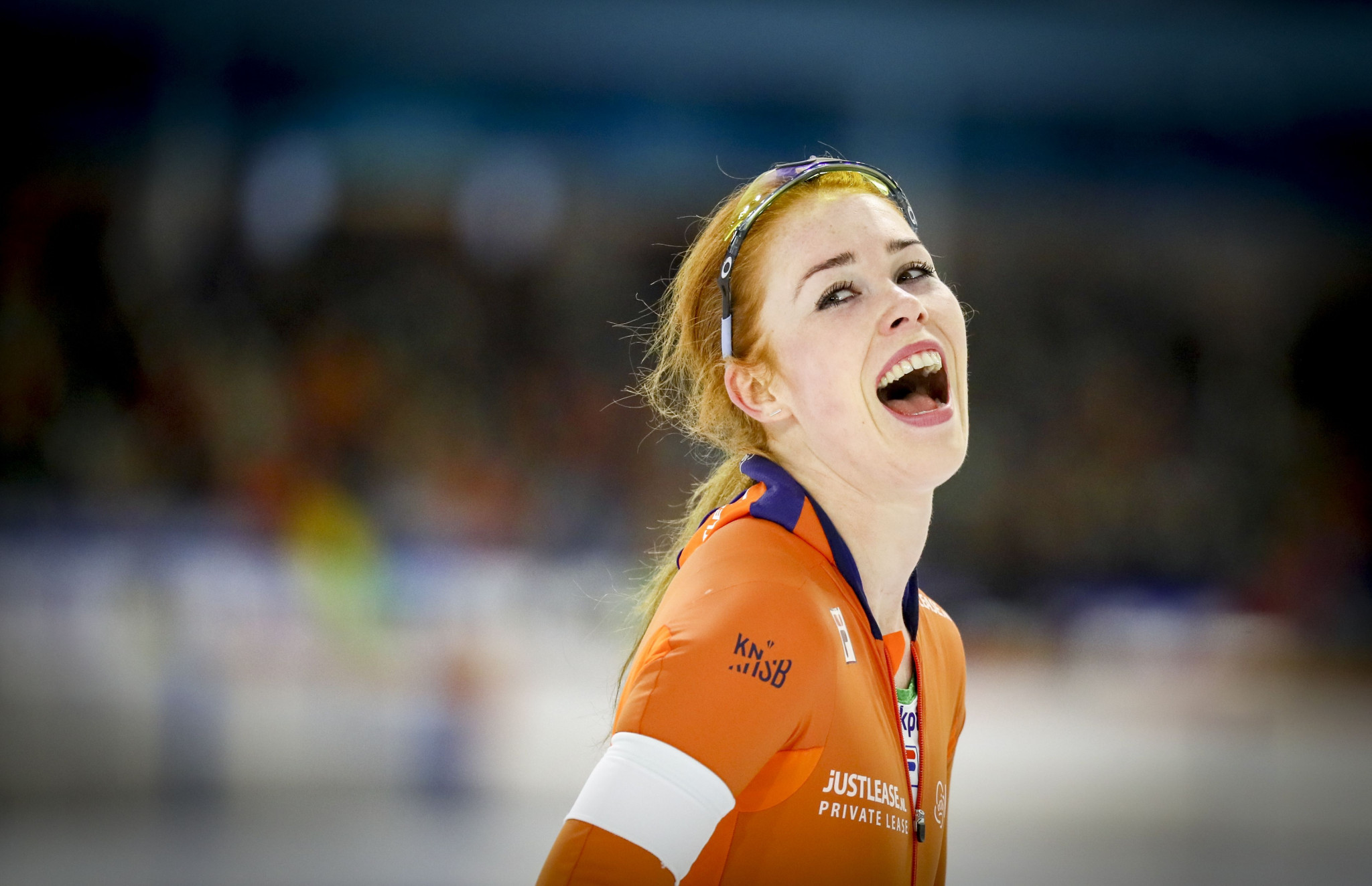 Antoinette de Jong claimed the second A final win for The Netherlands in the women's 3,000m ©Getty Images
