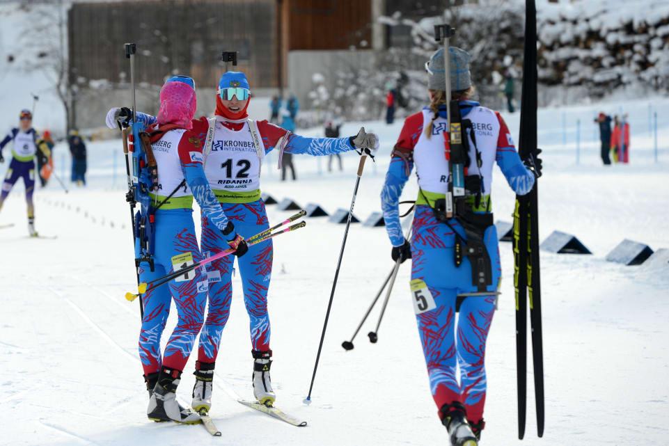 Russia dominate women's pursuit at Hochfilzen IBU World Cup
