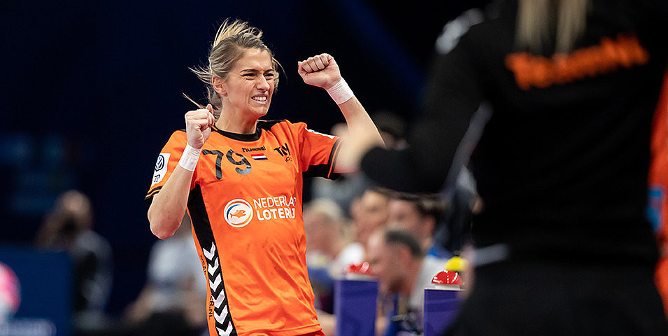 The Netherlands won bronze with a 24-20 win over Romania ©EHF
