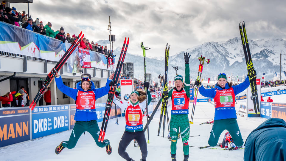 Italy and Sweden secure relay wins as IBU World Cup in Hochfilzen concludes