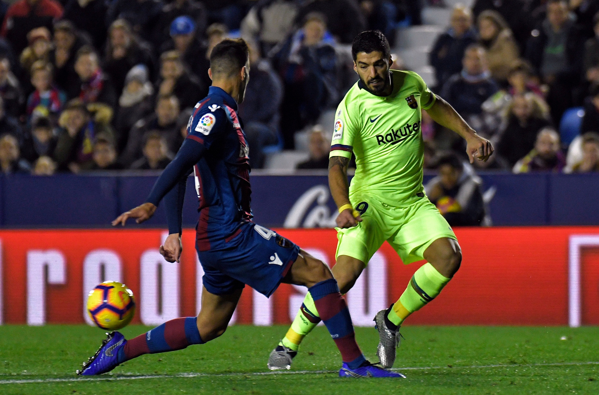 Barcelona were due to play in the first regular La Liga season game to be held outside of Spain ©Getty Images