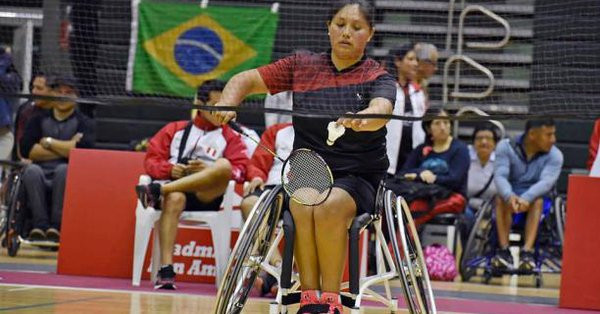 Peruvian badminton player Jauregui wins Americas Paralympic Committee Athlete of the Month award
