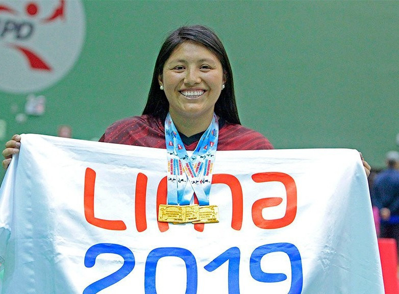 Pilar Jauregui won November's Americas Paralympic Committee (APC) Athlete of the Month award following her performance at the Para Badminton Pan American Championships in Lima which saw her win three gold medals ©Lima 2019