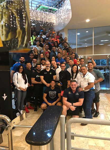 Sixty people take part in new IFBB Academy course